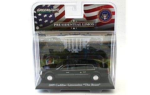 2009 キャディラック リムジン 「The Beast」 バラクオバマ大統領使用車 (1/43 グリーンライトGL86110-D)