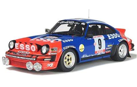 ポルシェ 911 SC Gr.4 ブルー/レッド ツールドコルス 1980 Jean-Luc Therier (1/18 オットーモビルOTM176)