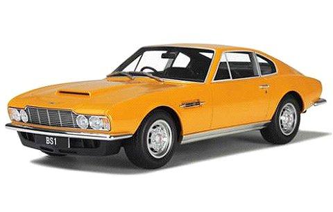 アストンマーチン DBS 1970 イエロー (1/18 GTスピリット GTS079)