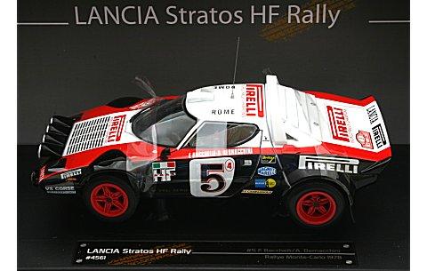 ランチア ストラトス HF 1978 モンテカルロラリー No5 (1/18 サンスター4561)