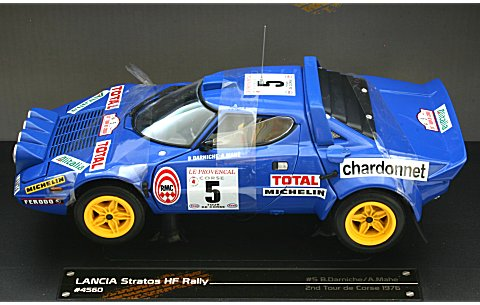ランチア ストラトス HF 1976 ツール・ド・コルス2位 No5 (1/18 サンスター4560)