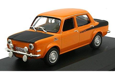 シムカ ラリー 2 1976 オレンジ (1/43 ホワイトボックスWB168)