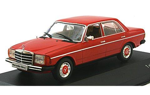 メルセデス 200 D (W123) 1976 レッド (1/43 ホワイトボックスWB173)