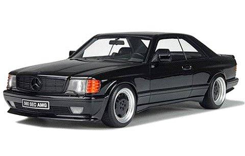 メルセデスベンツ 560 SEC AMG ワイドボディ ブラック (1/18 オットーモビルOTM187)