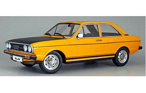 アウディ 80 GTE 1972 イエロー/ブラック (1/18 KKスケール KKDC180031)