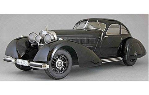 メルセデス 540K 「Autobahnkurier」 1938 ブラック (1/18 KKスケール KKDC180081)
