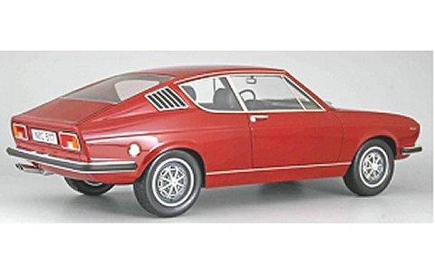 アウディ 100 クーペ S 1970 ダークレッド (1/18 KKスケール KKRE180002)