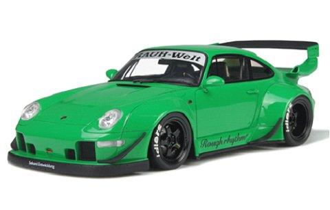 RWB 993 グリーン (1/18 GTスピリット GTS074)