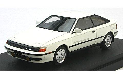 トヨタ セリカ GT-FOUR (ST165) 1987 スーパーホワイトII (1/43 マーク43 PM4337W)