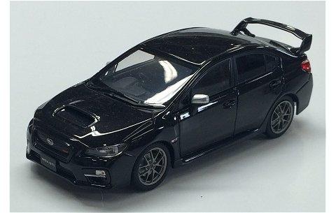 スバル WRX STI 2014 ブラック (1/43 エブロ45312)