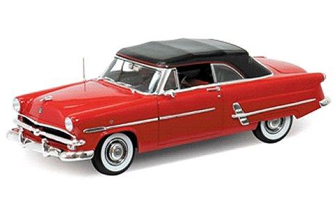1953 フォード CRESTLINE SUNLINER ソフトトップ レッド (1/18 ウエリーWE12525HR)
