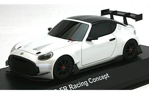 トヨタ S-FR レーシングコンセプト ホワイトパール (1/43 京商KSR43003W)