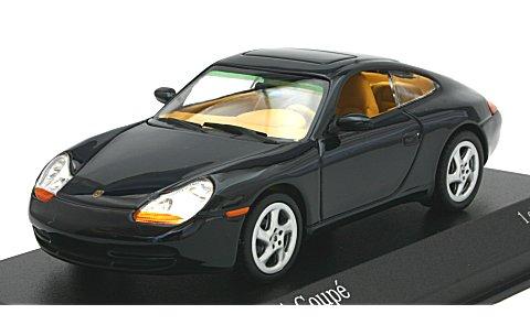 ポルシェ 911 (996) クーペ 1998 ブルーM (1/43 ミニチャンプス400061180)