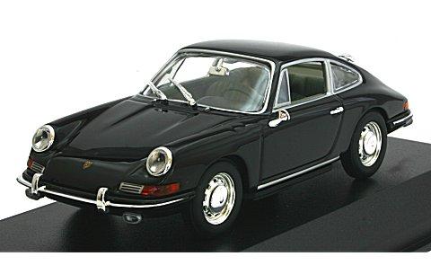 ポルシェ 911 1964 ブラック (1/43 ミニチャンプス430067136)