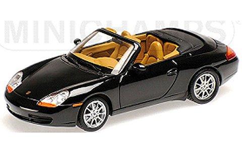 ポルシェ 911 (996) カブリオレ 1998 ブラックM (1/43 ミニチャンプス400061090)