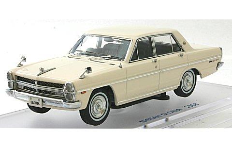 ニッサン グロリア (PA30) スーパーDX 1968 グロリアホワイト (1/43 エニフENIF0035)