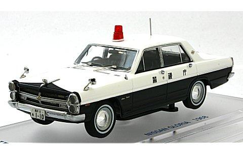 ニッサン グロリア (PA30) パトロールカー 1968 警視庁 (1/43 エニフENIF0038)