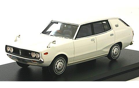 ニッサン スカイライン 1800 ワゴン スポーティ GL 1972 ホワイト (1/43 ハイストーリーHS151WH)