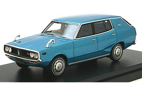 ニッサン スカイライン 1800 ワゴン スポーティ GL 1972 ブルーM (1/43 ハイストーリーHS151BL)