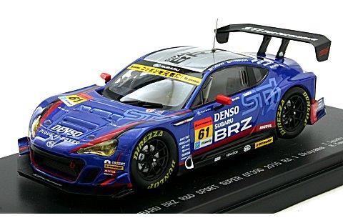 スバル BRZ R&D スポーツ スーパーGT300 2015 Rd.1 岡山 No61 (1/43 エブロ45294)