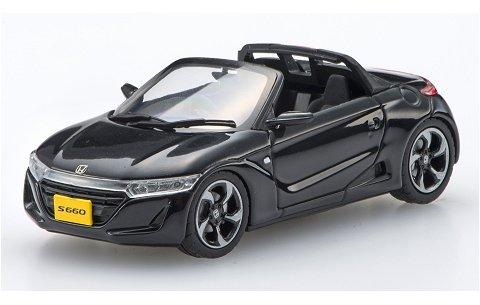 ホンダ S660 ブラック (1/43 エブロ45361)