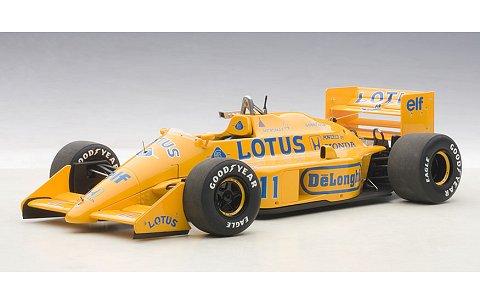 ロータス 99T ホンダ F1 日本GP 1987 No11 中嶋悟 (1/18 オートアート88726)