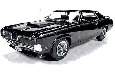 1970 マーキュリー クーガー Eliminator ブラック (1/18 アメリカンマッスルAMM1071)