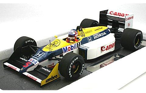 ウィリアムズ ホンダ FW11B N・マンセル 1987 (1/18 ミニチャンプス117870005)
