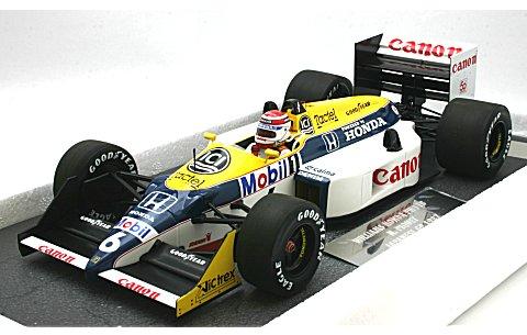 ウィリアムズ ホンダ FW11B N・ピケ ワールドチャンピオン 1987 (1/18 ミニチャンプス117870006)