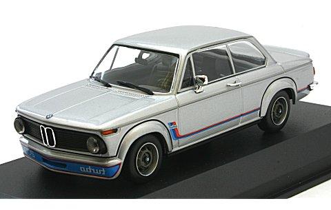 BMW 2002 ターボ 1973 シルバー (1/43 ミニチャンプス940022200)