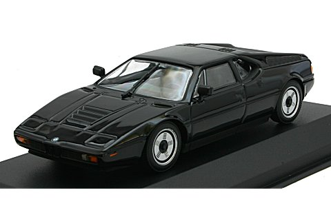 BMW M1 1979 ブラック (1/43 940025021)