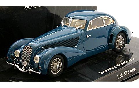 ベントレー EMBIRICOS 1938 ブルー (1/43 ミニチャンプス436139821)