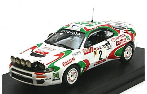 トヨタ セリカ ターボ 4WD (ST185) 1994 ポルトガルラリー1位 No2 (1/43 トロフューRRal38)