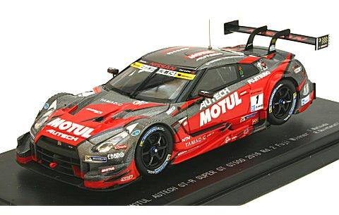 モチュール オーテック GT-R スーパーGT500 2016 Rd.2富士 No1 (1/43 エブロ45397)