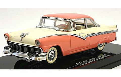 フォード フェアレーン ハードトップ 1956 サンセットコーラル/コロニアルホワイト (1/43 ビテス36275)