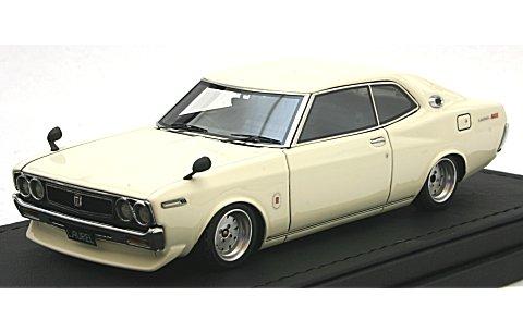 ニッサン ローレル 2000SGX (C130) ホワイト (1/43 (1/43 イグニションモデルIG0793)