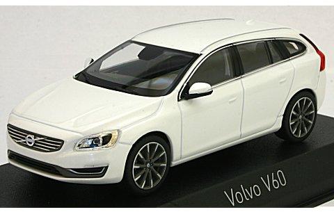 ボルボ V60 2013 クリスタルホワイトM (1/43 ノレブ870016)
