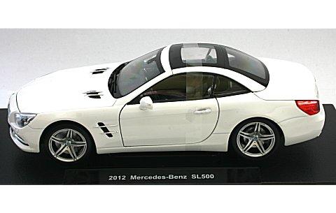 メルセデスベンツ SL500 ハードトップ ホワイト (1/18 ウエリー WE18046HW)