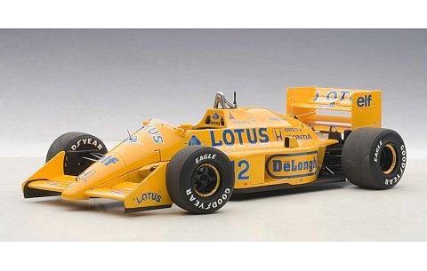 ロータス 99T ホンダ F1 日本GP 1987 No12 アイルトン・セナ (1/18 オートアート88727)