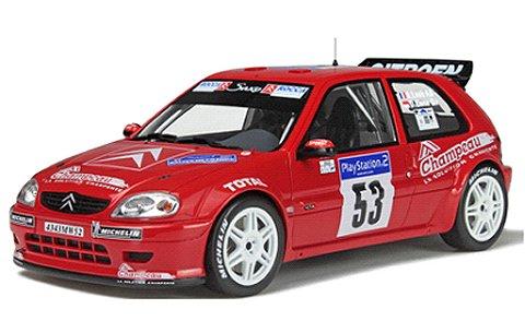 シトロエン サクソ No53 ツールドコルス 2001 S.Loeb/D.Elena (1/18 オットーモビルOTM197)