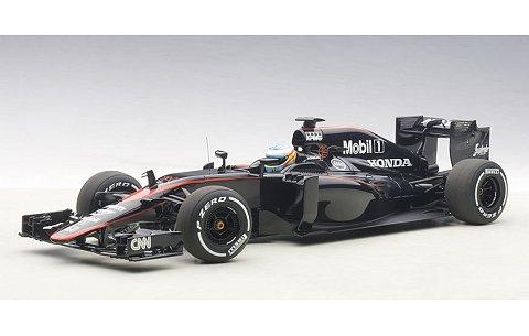 マクラーレン MP4-30 ホンダ F1 スペインGP 2015 No14 フェルナンド・アロンソ (ドライバーフィギュア付) (1/18 オートアート18121)
