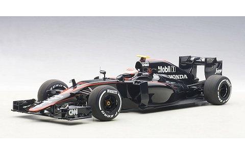 マクラーレン MP4-30 ホンダ F1 スペインGP 2015 No22 ジェンソン・バトン (ドライバーフィギュア付) (1/18 オートアート18122)