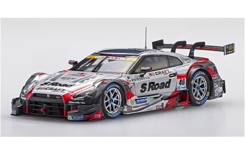 エスロード クラフトスポーツ GT-R スーパーGT500 2016 Rd.2富士 No46 (1/43 エブロ45399)