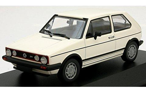 フォルクスワーゲン ゴルフ GTI 1980 ホワイト (1/43 ミニチャンプス940055171)