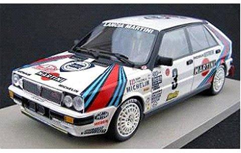 ランチア デルタ 「マルティニ」 モンテカルロラリー ウイナー 1988 No3 (B.サビー) (1/18 トップマーケスTOP024C)