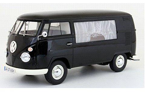 フォルクスワーゲン T1 葬礼車 1960 ブラック (1/18 プレミアムクラシックスPCS30085)