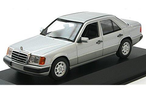 メルセデスベンツ 230E 1991 シルバーM (1/43 ミニチャンプス940037000)