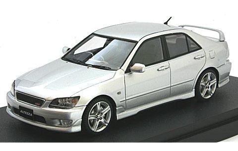 トヨタ アルテッツァ RS 200 スポーツバージョン シルバーM (1/43 マーク43 PM4343S)