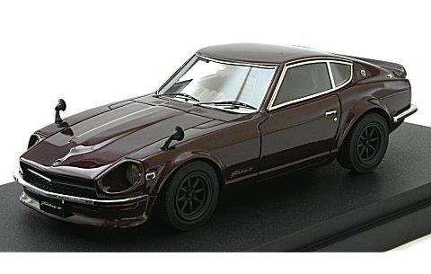 ニッサン フェアレディ Z (S30) カスタムバージョン マルーン (1/43 マーク43 PM43525M)