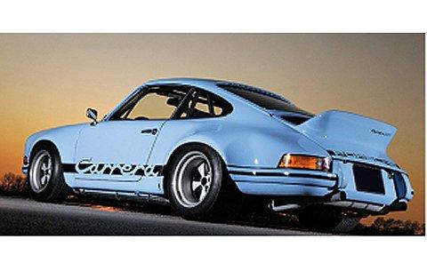 ポルシェ 911 カレラ RSR 2.8 1973 ガルフブルー/ブラック (1/18 ミニチャンプス107065021)
